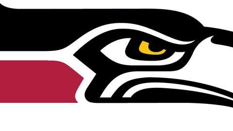 Seattle Seahawks (Cardinals colors)