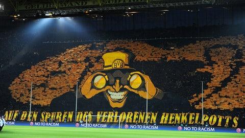 Signal Iduna Park (Borussia Dortmund): €54.2M
