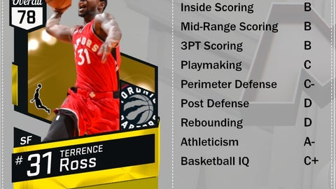 Gold Terrence Ross (SF, 78)