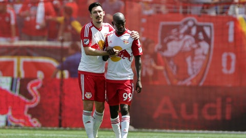 New York Red Bulls - Bradley Wright-Phillips and Sacha Kljestan