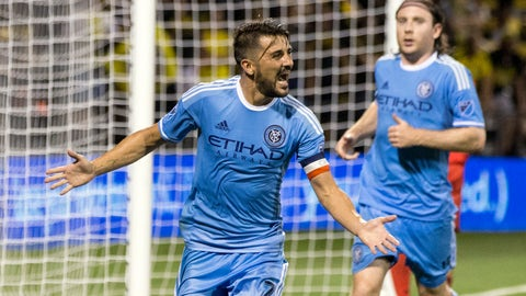 New York City FC - Just out-score teams