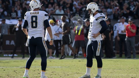 Raiders 34, Chargers 31