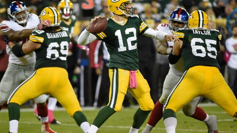 Packers 23, Giants 16