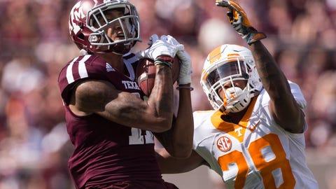 A&M's receivers vs. Alabama's secondary