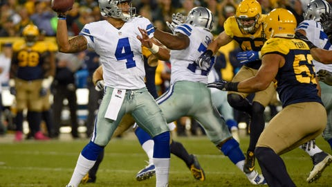 Jerry Jones is starting to struggle with his Dak Prescott decision