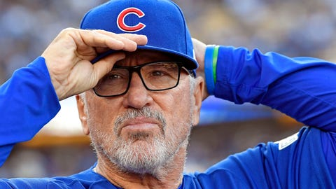 NL Manager: Joe Maddon, Chicago Cubs