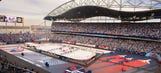 The best photos from the Heritage Classic's outdoor spectacle
