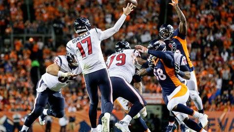 Houston Texans (5-3): 4 covers ATS, 1 push