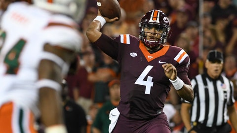 Virginia Tech at Pitt (+3.5, Thursday)