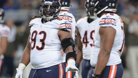 DT: Will Sutton, Chicago Bears: 6-0, 297 pounds