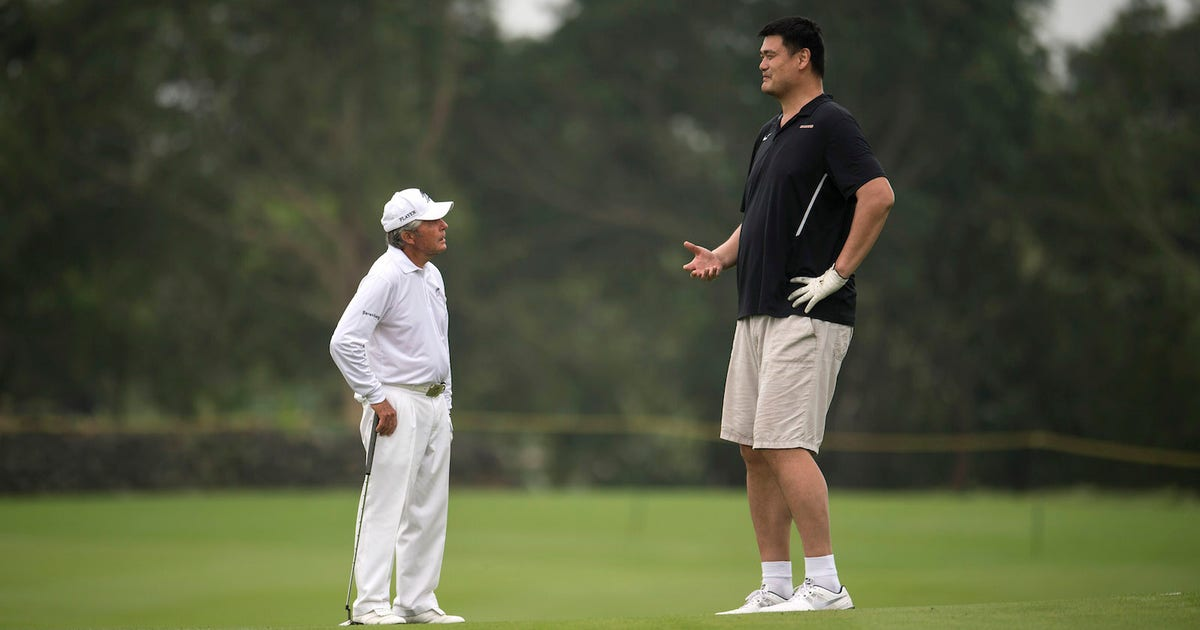 Yao And Gary Player Went Golfing And The Resulting Photos Are