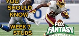Fantasy Football: Week 7 studs on the waiver wire