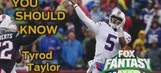Fantasy Week 8:  Tyrod Taylor is flying under the radar