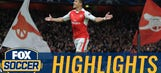 Alexis Sanchez opens scoring with excellent chip | 2016-17 UEFA Champions League Highlights