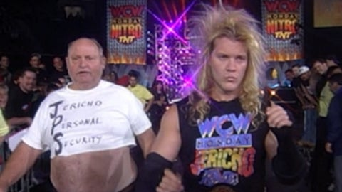 Bonus: Chris Jericho's personal security guard, Ralphus