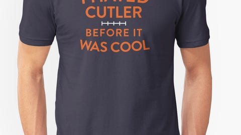 "Bears: ""Cut Cutler!"""