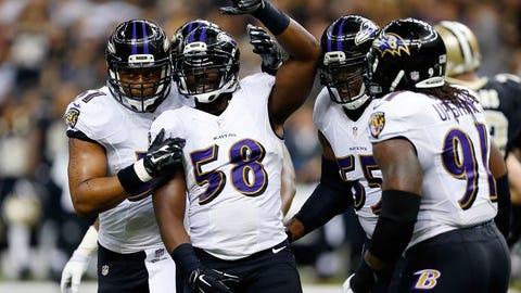 OLB/Edge: Elvis Dumervil, Baltimore Ravens: 5-11, 250 pounds