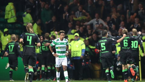 Celtic just can't hang in the Champions League