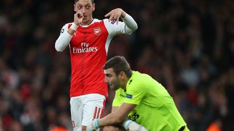 As Mesut Ozil goes, so do Arsenal