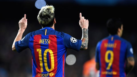 Messi continues to be a boss