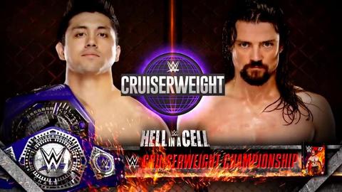 TJ Perkins vs. Brian Kendrick for the WWE Cruiserweight Championship