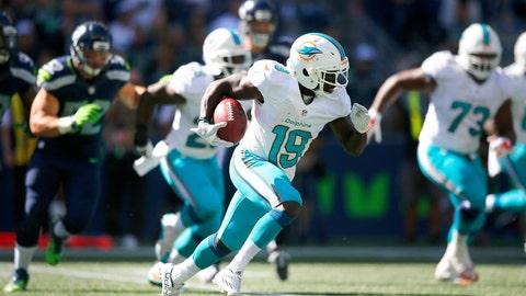 KR/PR: Jakeem Grant, Miami Dolphins: 5-7, 172 pounds