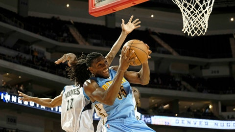 Kenneth Faried, SF, Denver Nuggets