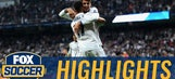 Lucas Vazquez volley extends Real Madrid's lead | 2016-17 UEFA Champions League Highlights