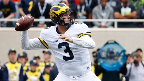 Michigan (8-0), re-rank: 2