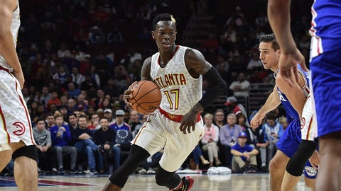 Dennis Schroder's Jekyll-and-Hyde opening statement