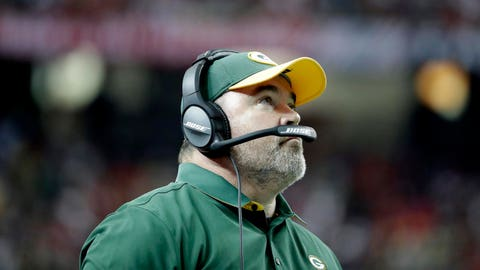 Is it warm in here, or is it me? Mike McCarthy, Green Bay Packers (4-3)