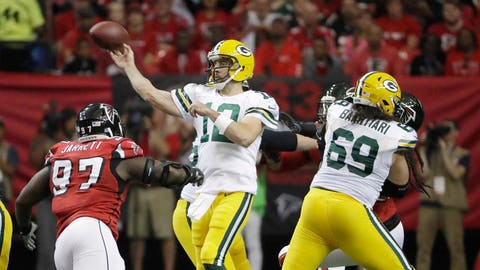 Is Aaron Rodgers back?