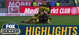 Christian Pulisic scores late equalizer against Ingolstadt | 2016-17 Bundesliga Highlights