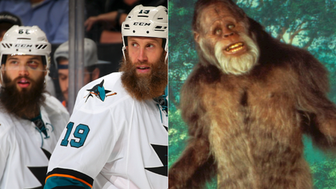 Brent Burns/Joe Thornton - Bigfoot