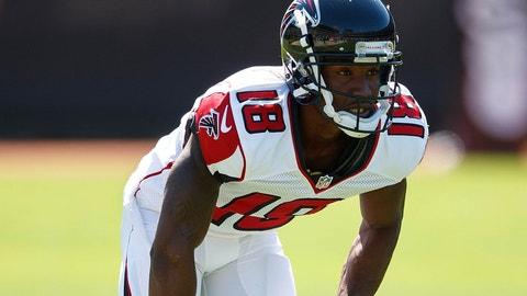 WR: Taylor Gabriel, Atlanta Falcons: 5-8, 167 pounds