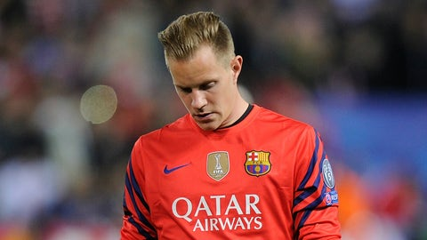 PSG's high press put the game in Ter Stegen's hands and it paid off