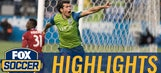 Nelson Valdez header puts Seattle in front vs. Dallas | 2016 MLS Highlights