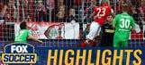 Arturo Vidal opens the scoring for Bayern vs. Gladbach | 2016-17 Bundesliga Highlights