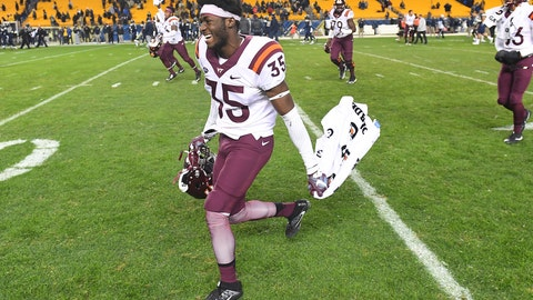 14. Virginia Tech (overrated)