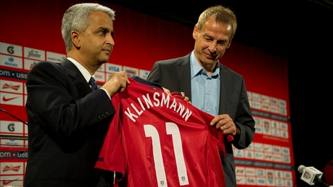 August 11, 2011: Klinsmann is hired