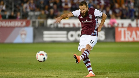 Colorado Rapids - Shkelzen Gashi: $1.668 million