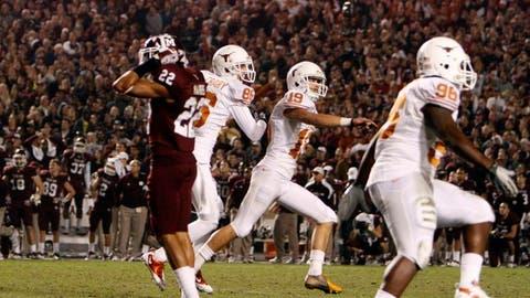 Texas vs. Texas A&M - Last played: 2011