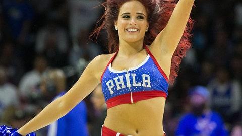 76ers dancer