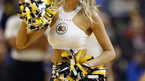 Pacers dancer