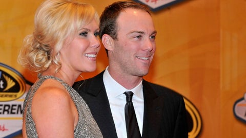 Kevin Harvick and wife DeLana, 2011