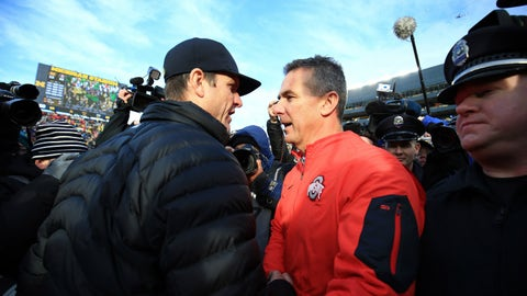 Michigan and Ohio State both get in