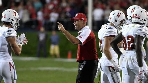"""Nebraska (""""Husker Chrome"""" alternate uniform vs. Northwestern, Sept. 24)"""