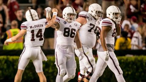 """Texas A&M (""""Junction Made"""" uniforms vs. South Carolina, Oct. 1)"""