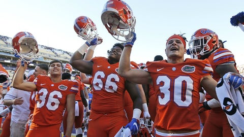 Florida at Florida State (Saturday, 8:00 p.m. ET)