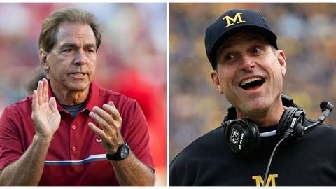 Michigan vs. Alabama